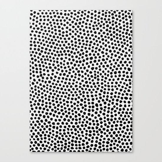 Dots Pattern Canvas Print