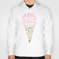 philosophy Hoodies featuring Ice cream eater's philosophy by eli*