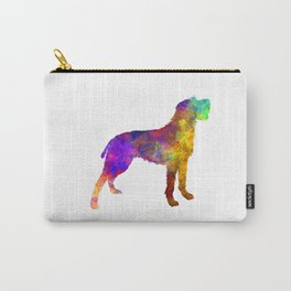 Bohemian Wirehaired Pointing Griffon in watercolor Carry-All Pouch