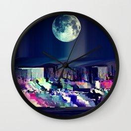 Moon High  Wall Clock