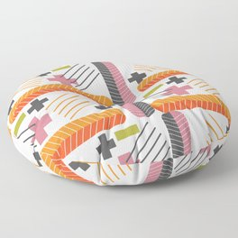 Pluses and minuses Floor Pillow