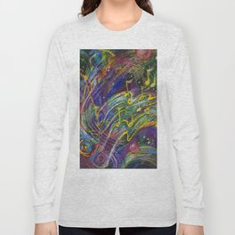 Can You Feel The Music? Long Sleeve T-shirt