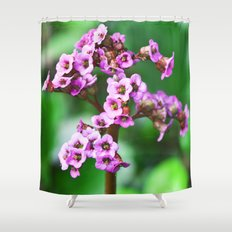 MAGIC PINK BLOSSOMS Shower Curtain