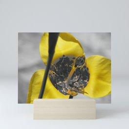Yellow Majesty Mini Art Print