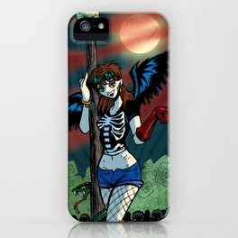 ♬♫♬ I see a bad moon a-rising... ♬♫♬ iPhone Case