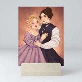 The Ladies of Shibden Hall Mini Art Print