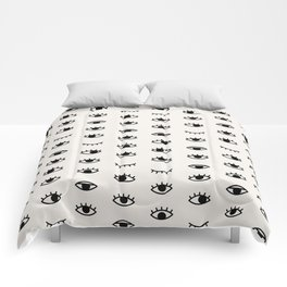 Eye Chart Comforters