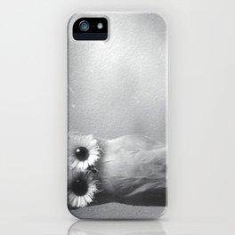 Owl Sideways  iPhone Case