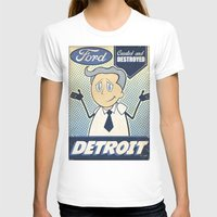 detroit T-shirts featuring Detroit by Sophie Broyd