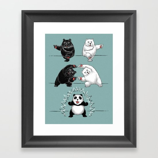 Ultimate Fusion! Framed Art Print