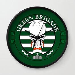 Green Brigade Wall Clock