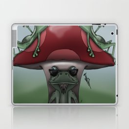 Shroom Frogs Laptop & iPad Skin