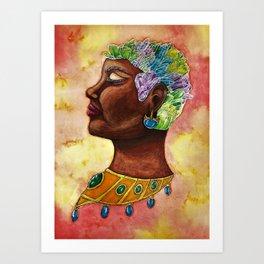 Egyptian Gem Art Print