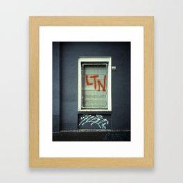 FRAMES & FACADES (LTN) Framed Art Print