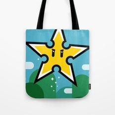 Ninja Star Power Tote Bag