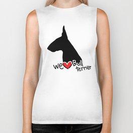 We love Bull terrier Biker Tank