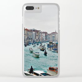 Grand Canal Venice 3 Clear iPhone Case