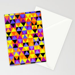Triangles II Stationery Cards