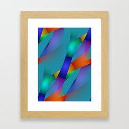 3D abstraction -18- Framed Art Print