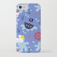 pirates iPhone & iPod Cases featuring Pirates by lindsey salles