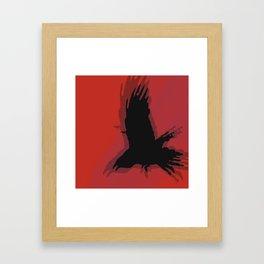 Ravens Blood Framed Art Print