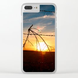 Travelin' Man Clear iPhone Case
