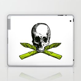 skull asparagus Laptop & iPad Skin