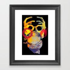 Phantom Hands Framed Art Print