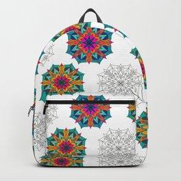 Mandala 4.2.1 Half Drop Pattern Backpack