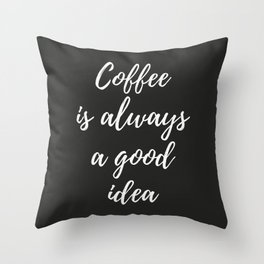 The Coffee Lover I Throw Pillow