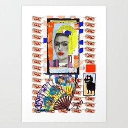 Unsaleable Diva Art Print