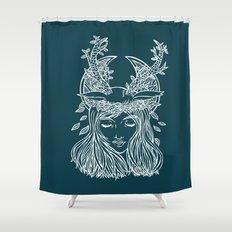 The Forest Princess Shower Curtain