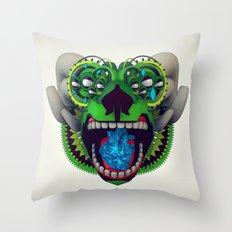 Artificial Mythology Throw Pillow