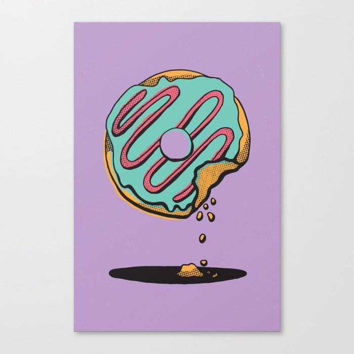 Donut Shop Canvas Print