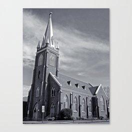 Visitation Catholic Church Canvas Print