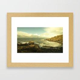 Hartland Beach  Framed Art Print