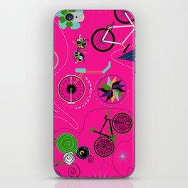 Cycledelic Pink iPhone Skin