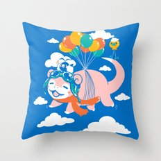 Slowpilot Throw Pillow