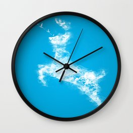In Search Of Peace Wall Clock