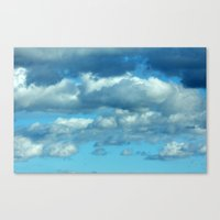 german Canvas Prints featuring German clouds by LoRo  Art & Pictures
