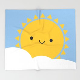 Good Morning Sunshine Throw Blanket
