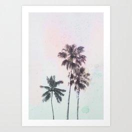 Palm Daze Art Print