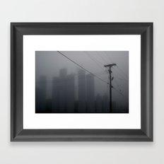 Nuclear Winter Framed Art Print