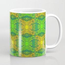 Oak King, Bohemian Arabesque Pattern, Coffee Mug