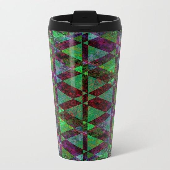 SIMPLY ABSTRACT Metal Travel Mug