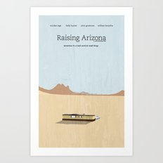 Film Friday No. 2, Raising Arizona Art Print