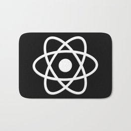 Atom | Science | Molecules Bath Mat