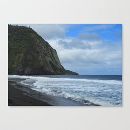 Cliffs Meet The Ocean Canvas Print