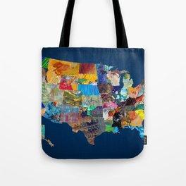 USA Map Tote Bag