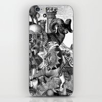 wizard iPhone & iPod Skins featuring Wizard by DIVIDUS